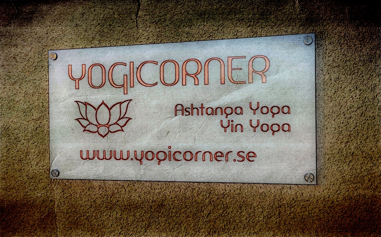 Yogicorner sign